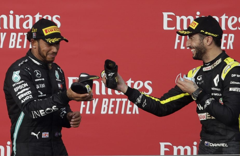 Mercedes, al 7-lea titlu consecutiv la constructori. Lewis Hamilton, numărul 1 la Emilia Romagna Grand Prix