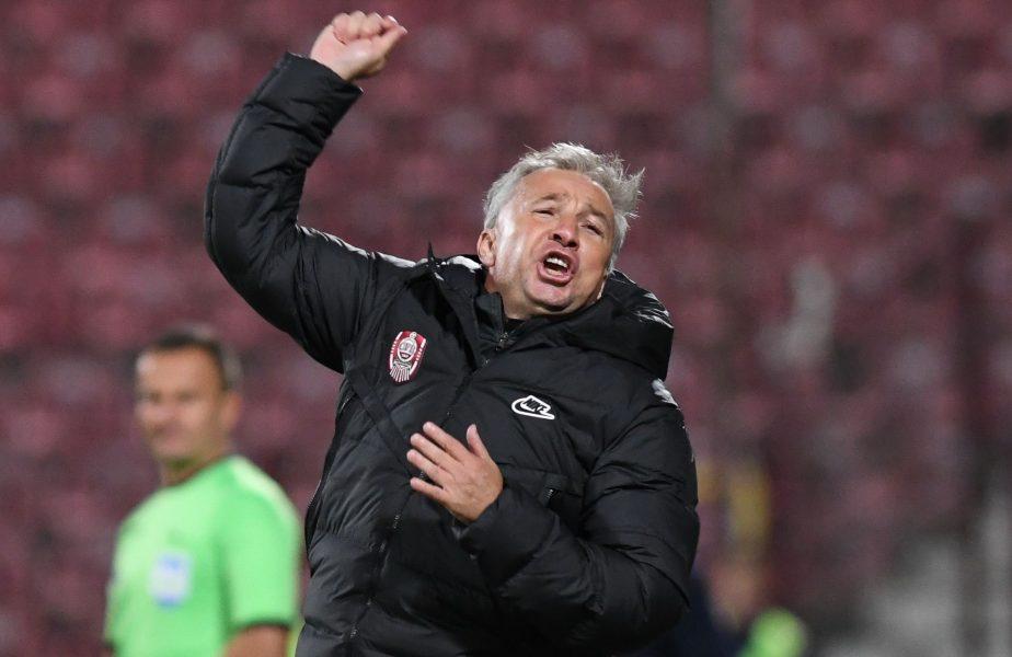 """""""Era disperat să ne anuleze golul!"""" Dan Petrescu, atac furibund la adresa arbitrajului. Ce a spus despre penalty-uri"""