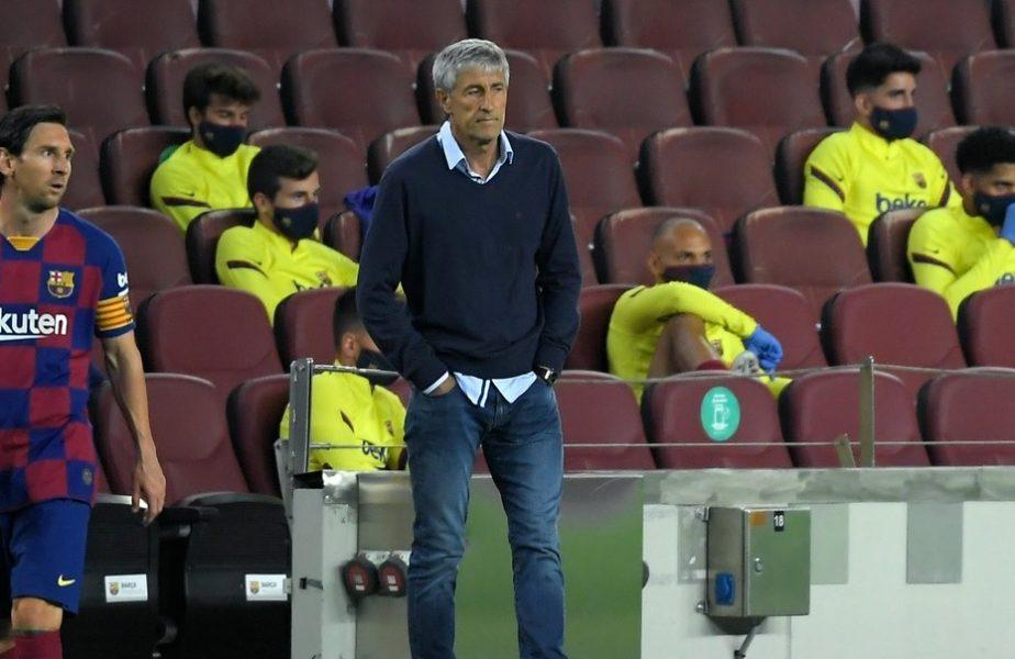 """Noi amănunte despre scandalul dintre Lionel Messi și Quique Setien de la Barcelona. """"Dacă nu-ți place, acolo este ușa!"""""""
