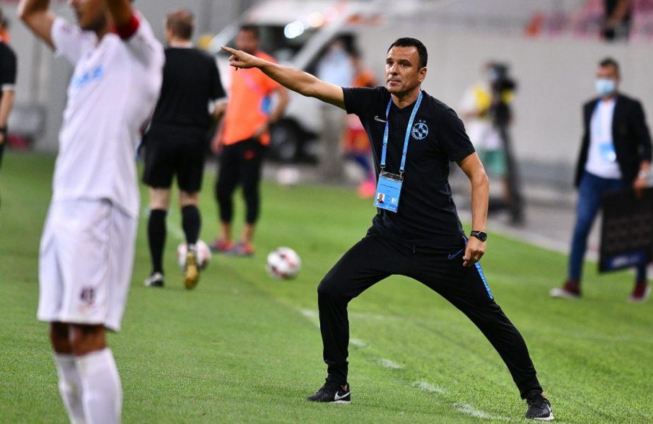 """Toni Petrea a prins curaj şi le-a transmis un mesaj clar jucătorilor. """"Să urcăm pe primul loc!"""". FCSB leagă victoriile şi promite titlul"""