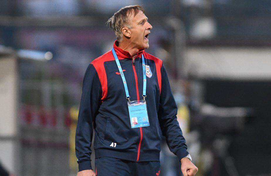 """""""FCSB are jucători de o calitate individuală fantastică!"""" Emil Săndoi, resemnat după eșecul cu roș-albaștrii. Ce a spus despre Costea"""