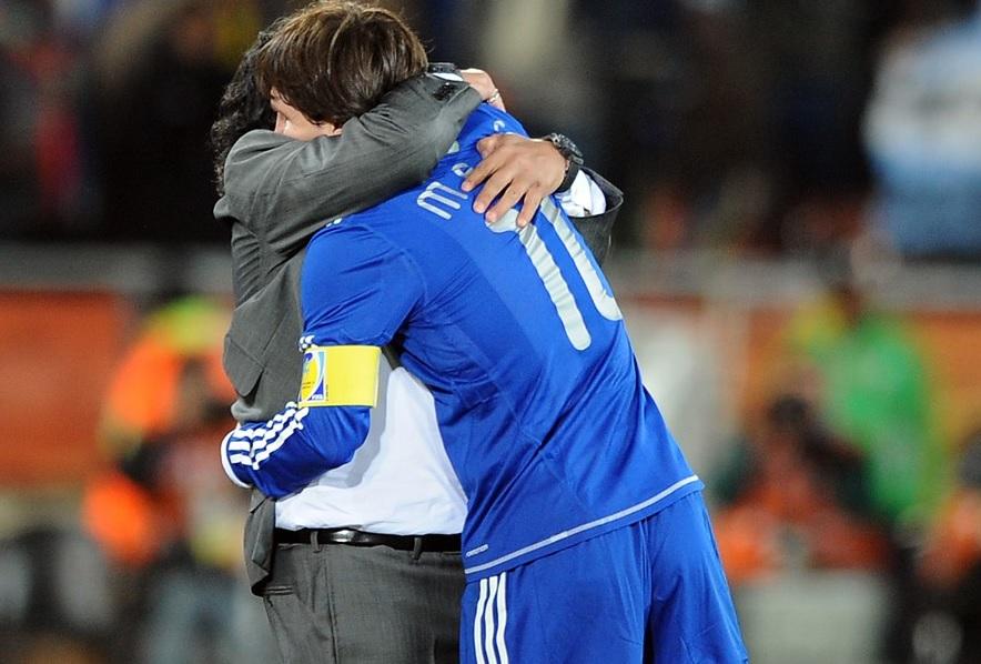 De la o legendă la alta! Lionel Messi, mesaj superb pentru Maradona! Ce i-a transmis jucătorul Barcelonei