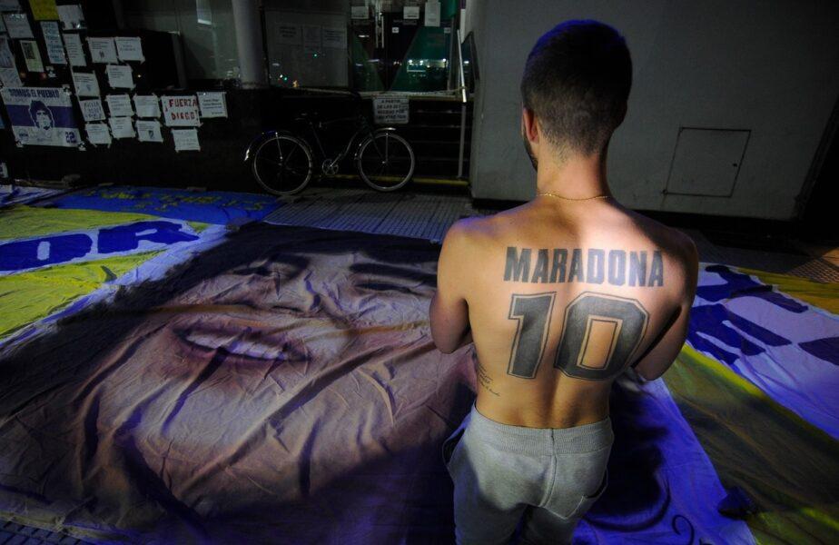 """""""Vindecarea ne uimeşte!"""" Detalii despre starea lui Diego Maradona, la două zile după operaţia pe creier"""