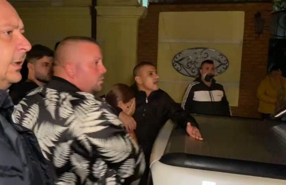 VIDEO | Strigăt de disperare! Cum a reacţionat soţia lui Adrian Mititelu în momentul în care poliţiştii l-au arestat pe patronul lui FC U Craiova