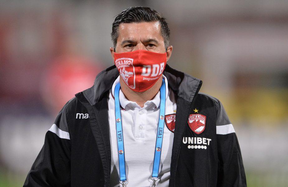 """""""Vorbe, sunt doar vorbe!"""" Cosmin Contra nu mai suportă situația de la Dinamo. Ce planuri are tehnicianul """"câinilor"""""""