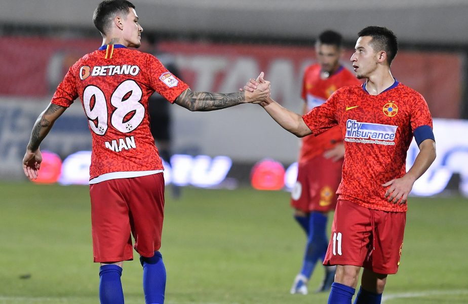 Man și Moruțan, mai mult decât în oricare alt an! Jucătorii FCSB-ului au dat InStat-ul peste cap în debutul de sezon din Liga 1