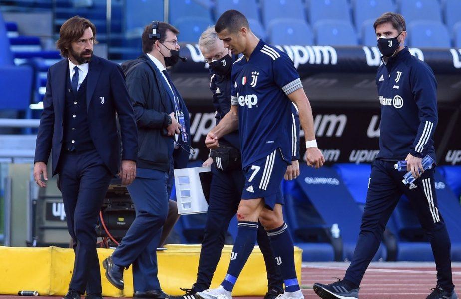 Cum se simte Ronaldo dupa accidentarea din Lazio – Juventus 1-1
