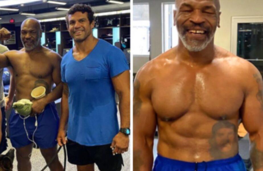 Tyson vs Jones. Transformare uluitoare a lui Mike Tyson, cu 2 săptămâni înainte de meci. A slăbit 40 de kg
