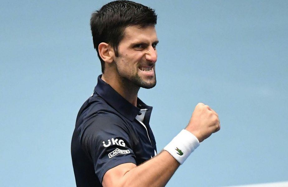 """Novak Djokovic e pus pe glume! Cum îl imită pe Cristiano Ronaldo și reacția starulului portughez: """"Nu-i rău!"""""""