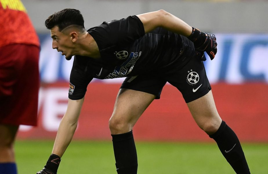 VIDEO | Budescu, ai văzut-o p-asta? Gol uluitor marcat de portarul Andrei Vlad, din spatele porţii