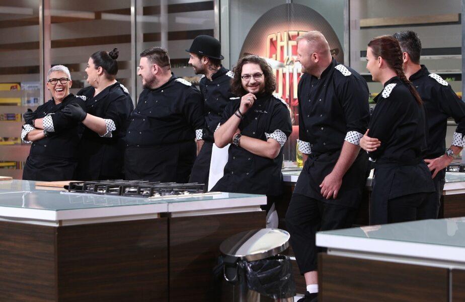 Echipa Tarom, juraţi în cea de-a patra confruntare Chefi la cuţite, diseară, de la 20:30, pe Antena 1