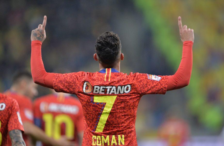 Giovanni Becali a anunțat când se va transfera Florinel Coman! Ce sumă va încasa Gigi Becali