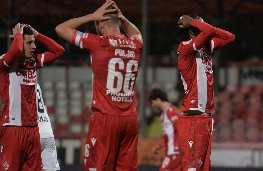 Dinamo e penultima în Liga 1