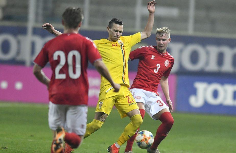 România U21 – Danemarca U21 1-1. CALIFICAREEE!!! Micii tricolori merg la Campionatul European! Performanţă extraordinară reuşită de jucătorii lui Adi Mutu