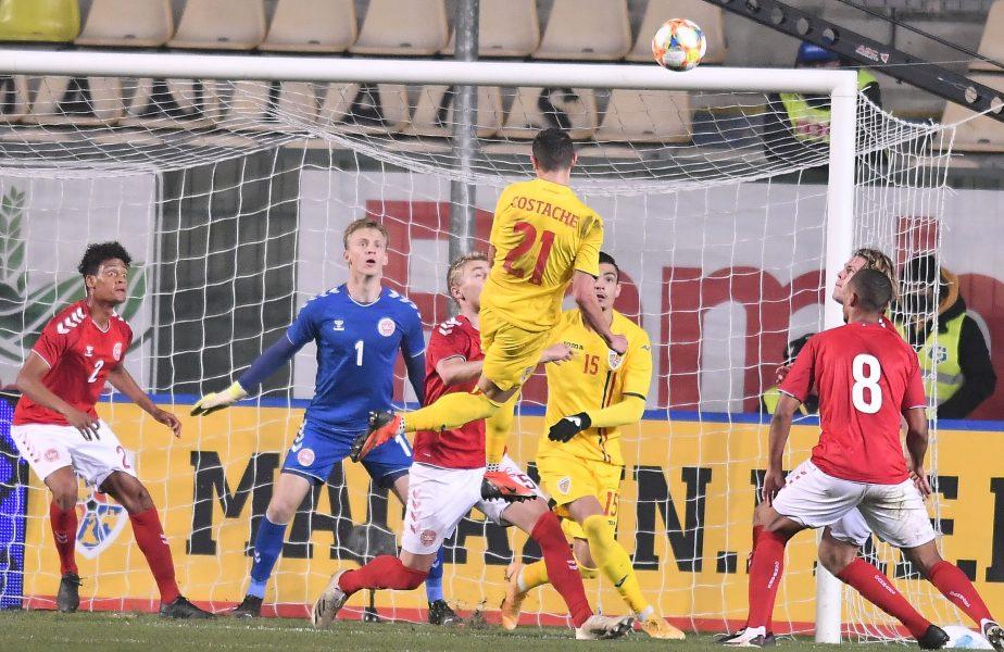 """""""Dacă era plin stadionul, aveam 1-0 din vestiar!"""" Valentin Costache, savuros după golul cu Danemarca. Ce a spus despre Dan Petrescu"""