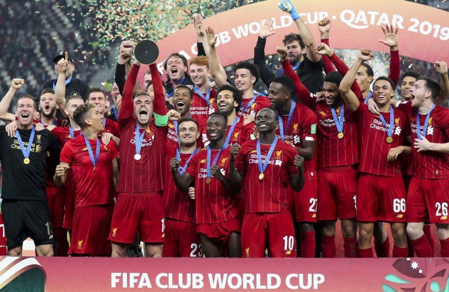 Campionatul Mondial al Cluburilor, amânat din cauza pandemiei! Când își va apăra Liverpool titlul câștigat anul trecut