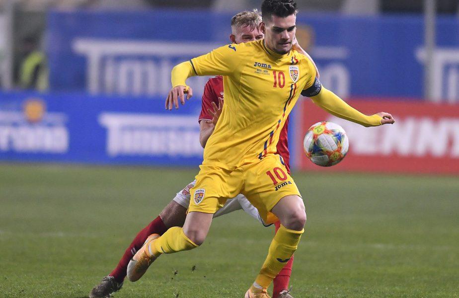 Mesajul celor de la Rangers pentru Ianis Hagi, după ce naţionala de tineret s-a calificat la EURO 2021