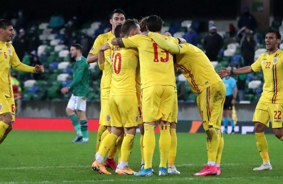 """Irlanda de Nord – România 1-1! """"Thor"""" salvează România! Tricolorii obțin un egal pe final"""