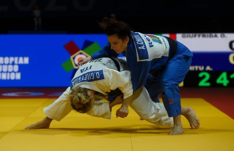 Andreea Chiţu a ajuns în finala CE 2020, unde a fost învinsă de Odette Giuffrida din Italia