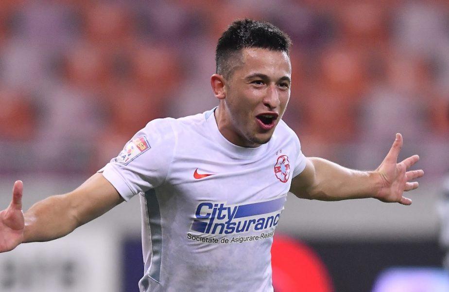 Olimpiu Moruțan este dorit de Galatasaray! Cât cere Gigi Becali. Ce variantă de rezervă are Fatih Terim. Este tot un jucător român