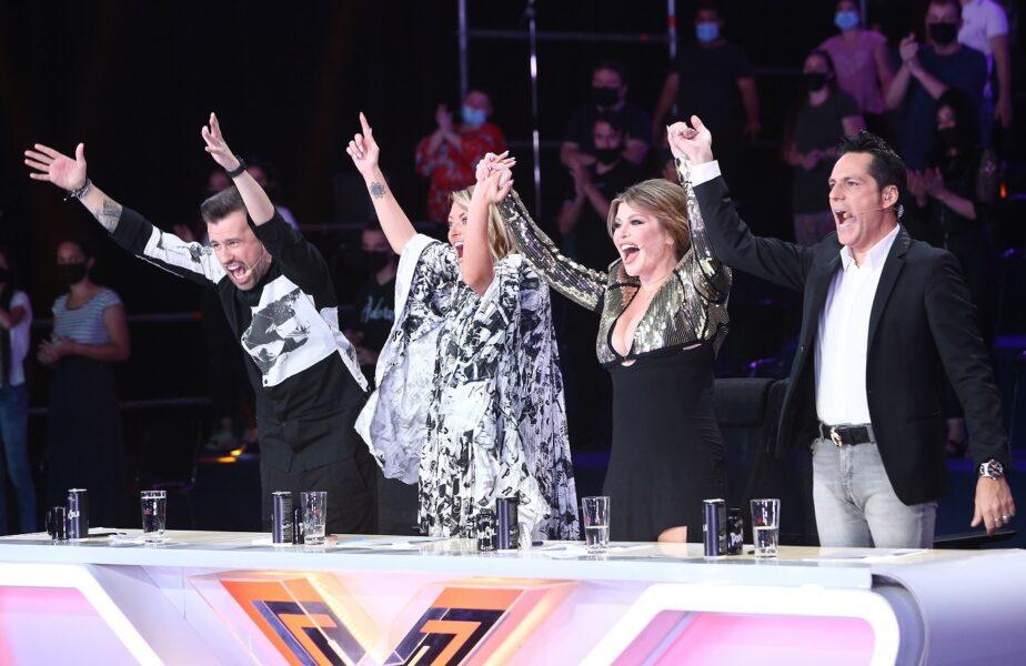 """Ultima ediție de audiții îi ține în șah pe jurații X Factor:  """"Nu pot sa îi dau Da!"""" Show-ul e azi, de la 20:30, pe Antena 1"""