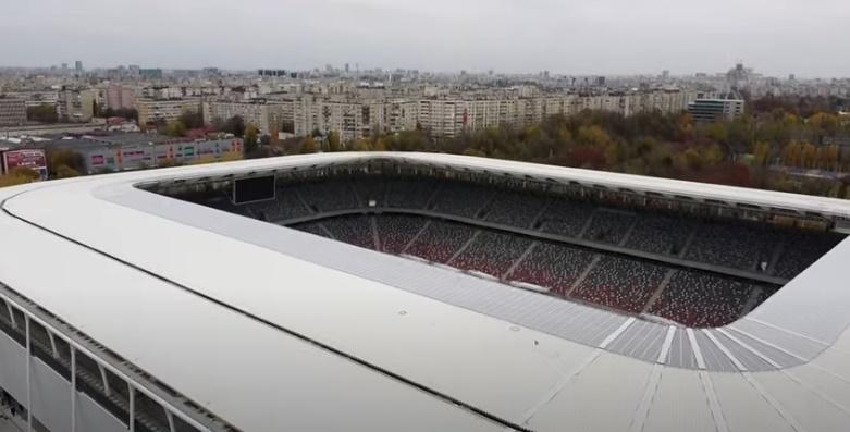 VIDEO Bijuteria din Ghencea e gata! Imagini senzaționale cu stadionul Steaua. Cum se vede arena de sus