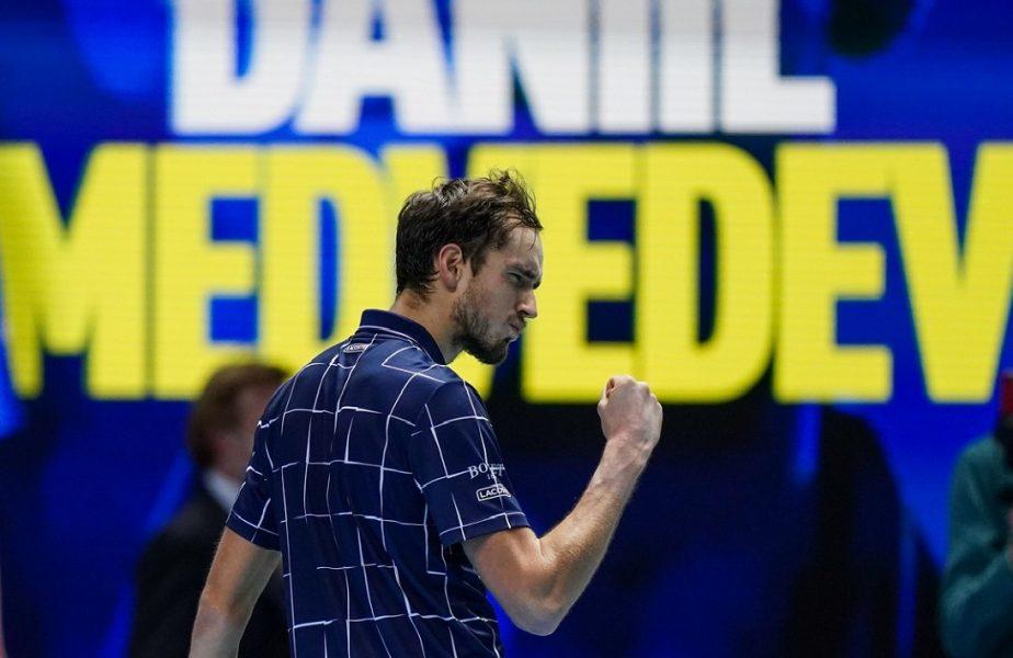 Câştigător în premieră la Turneul Campionilor! Rusul Medvedev a triumfat în finala nebună contra lui Thiem