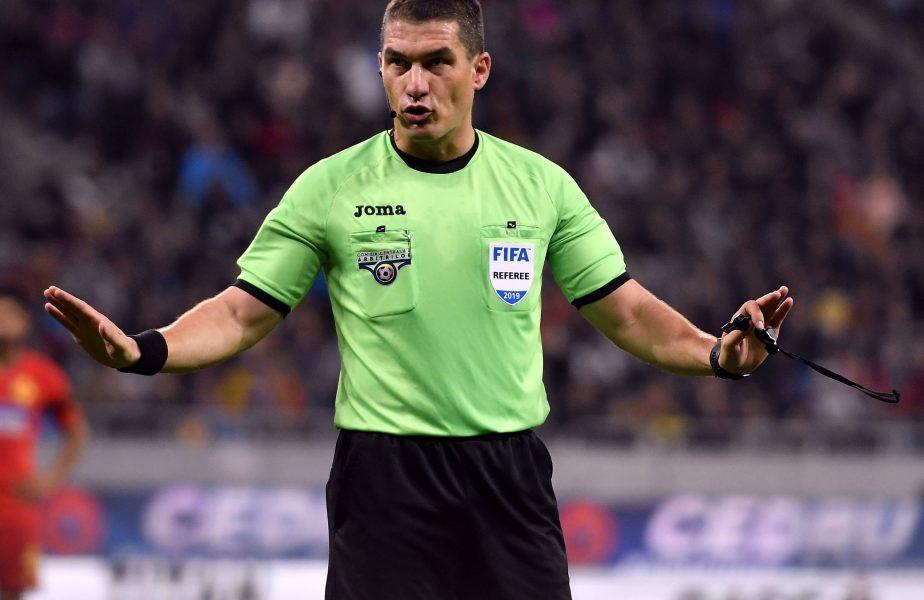 Iese Kovacs, intră Hațegan! Decizia luată de UEFA după ce primul a fost depistat pozitiv cu COVID-19