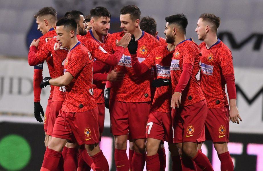 """FCSB a urcat pe locul 1 în Liga 1. Căpitanul roș-albaștrilor nu se bucură la maximum. """"Suntem fericiți, dar să rămânem cu picioarele pe pământ!"""""""