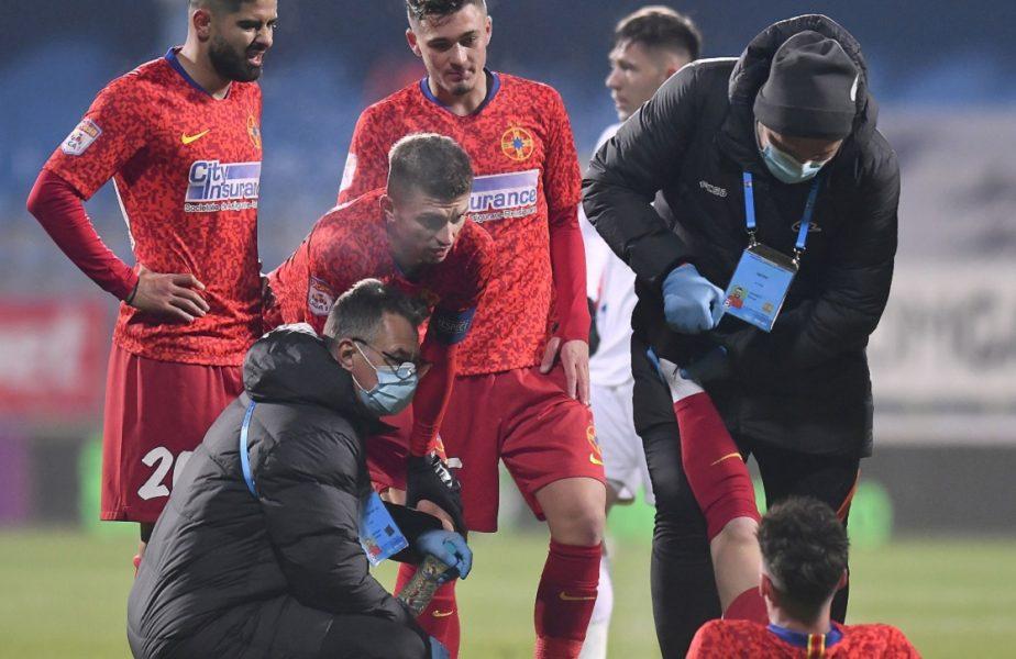"""FCSB a """"aprins"""" Gazul, dar și-a pierdut golgheterii. Toni Petrea, detalii despre accidentările lui Man și Tănase. Program horror pentru roș-albaștri"""