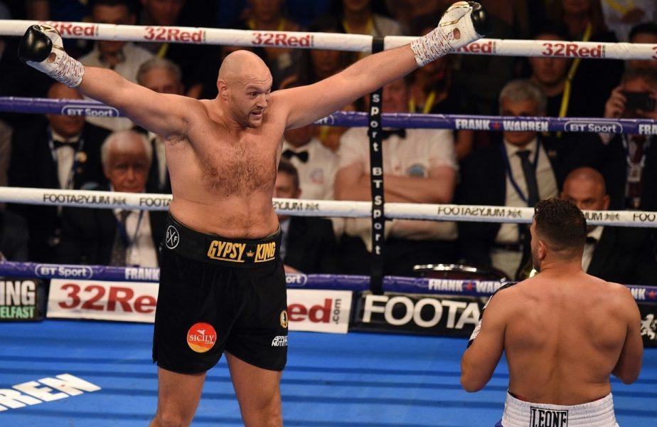 VIDEO   I-a dat de l-a julit! Tyson Fury a rupt tavanul în timpul antrenamentului. Când revine în ring legendarul boxer britanic