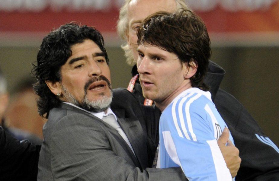 """Reacţiile lui Lionel Messi şi Cristiano Ronaldo, după moartea lui Maradona. """"Nu ne va părăsi niciodată, pentru că Diego este etern!"""""""