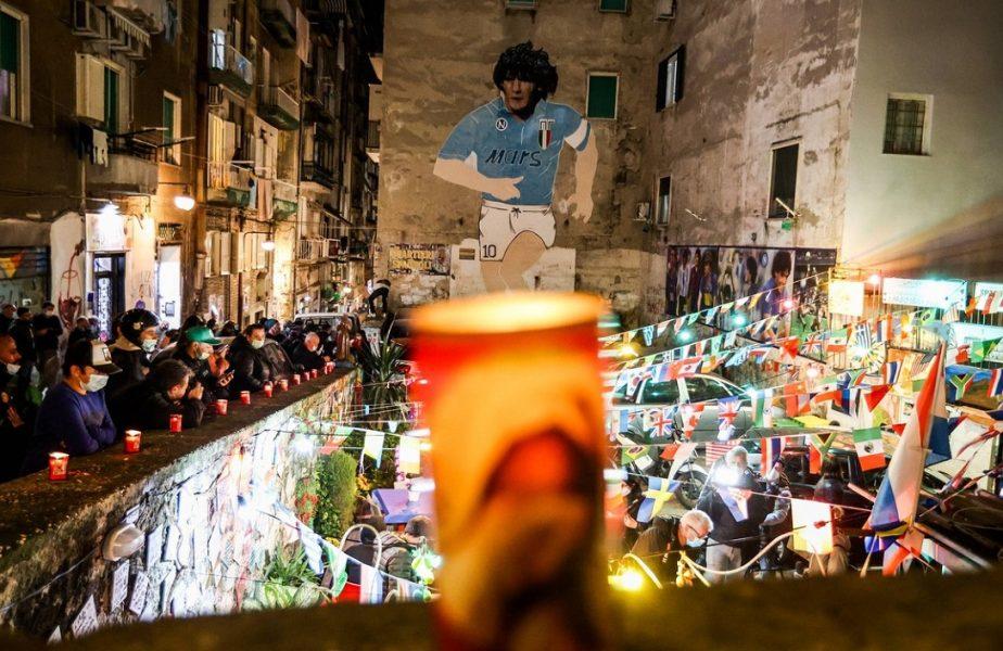 Ultimele clipe din viaţa lui Diego Maradona. Ce mesaj a transmis că vrea să îi fie trecut pe piatra funerară