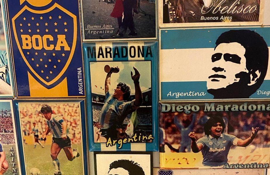 """Mihai Stoica, marcat profund de moartea lui Diego Maradona. """"Mi-am pierdut idolul"""". Poza uluitoare postată de MM"""