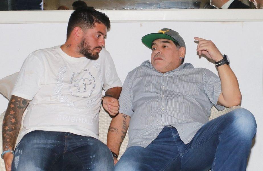 Dramă pentru fiul lui Maradona în Italia! Infectat cu COVID-19,vrea să ajungă de urgență în Argentina