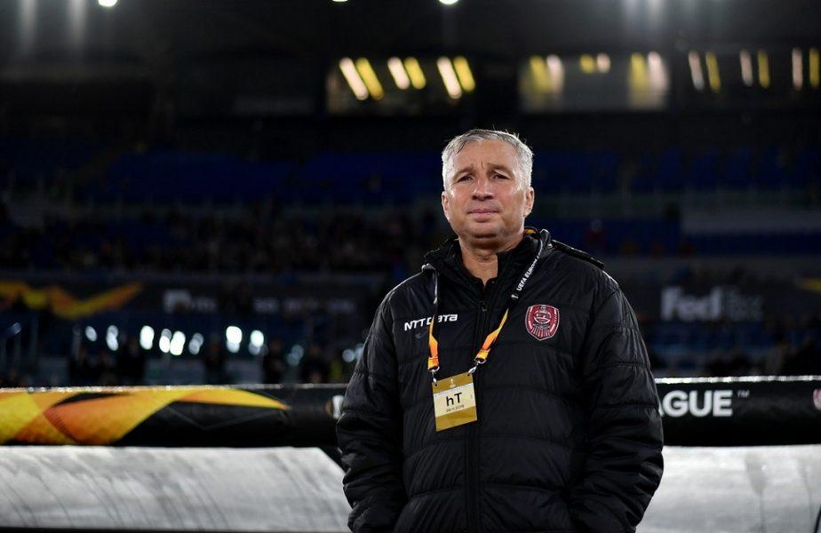 """CFR Cluj – AS Roma 0-2   """"Ne-am dat goluri singuri"""". Dan Petrescu nu renunţă şi visează la 16-imile Europa League. """"Accidentările şi pandemia ne-au decimat!"""""""