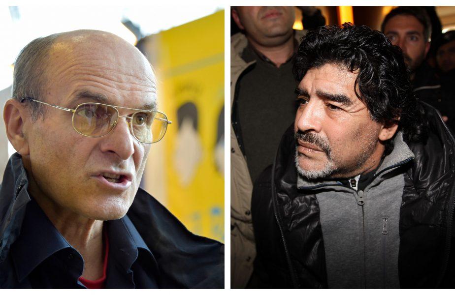 """Un personaj dezgustător din punct de vedere uman""! Maradona, atacat dur de Cristian Tudor Popescu. ""Cruyff, net superior"""