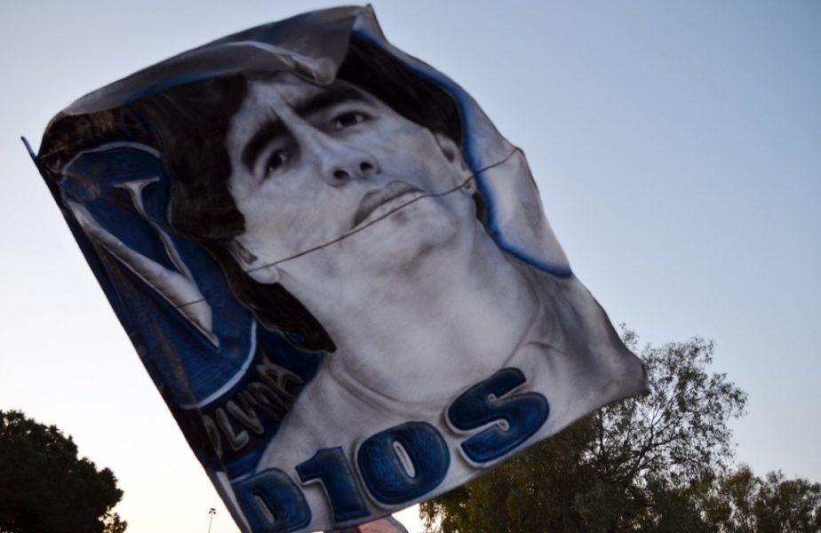Diego Maradona, omagiat de fanii din Argentina