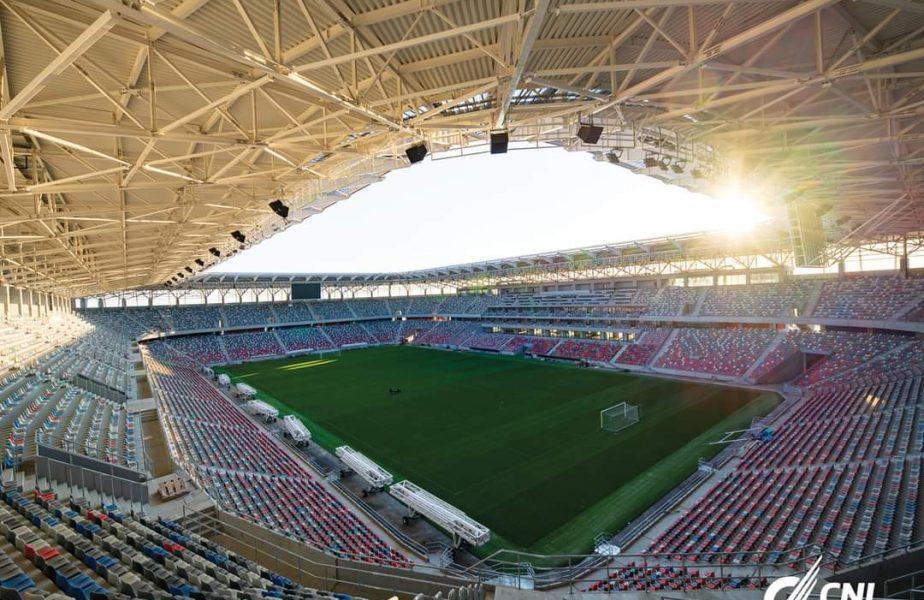 Noul stadion Steaua a fost terminat şi va intra în administrarea CSA Steaua