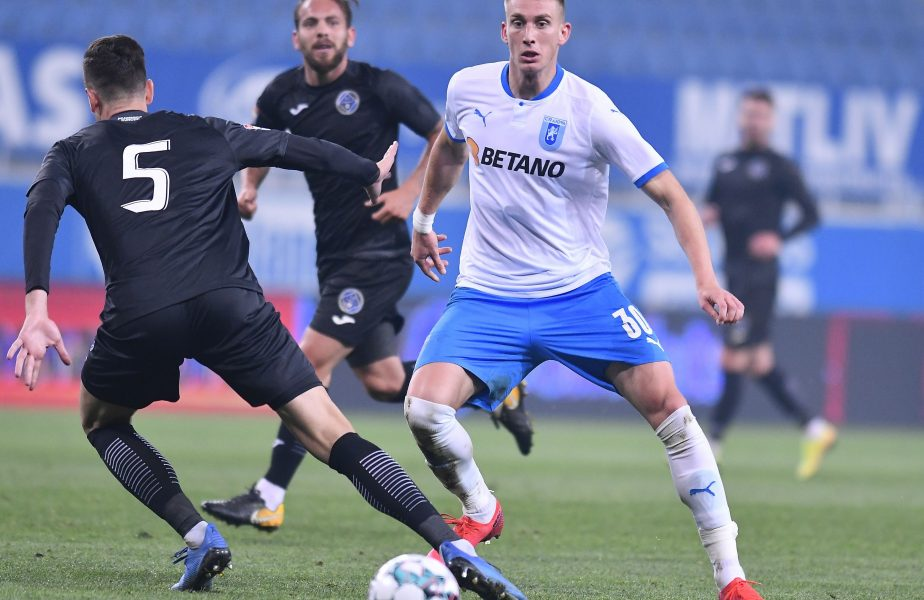 Universitatea Craiova – Progresul Spartac 5-0. Victorie fără emoții pentru olteni. Croatul Mamut a reușit o dublă