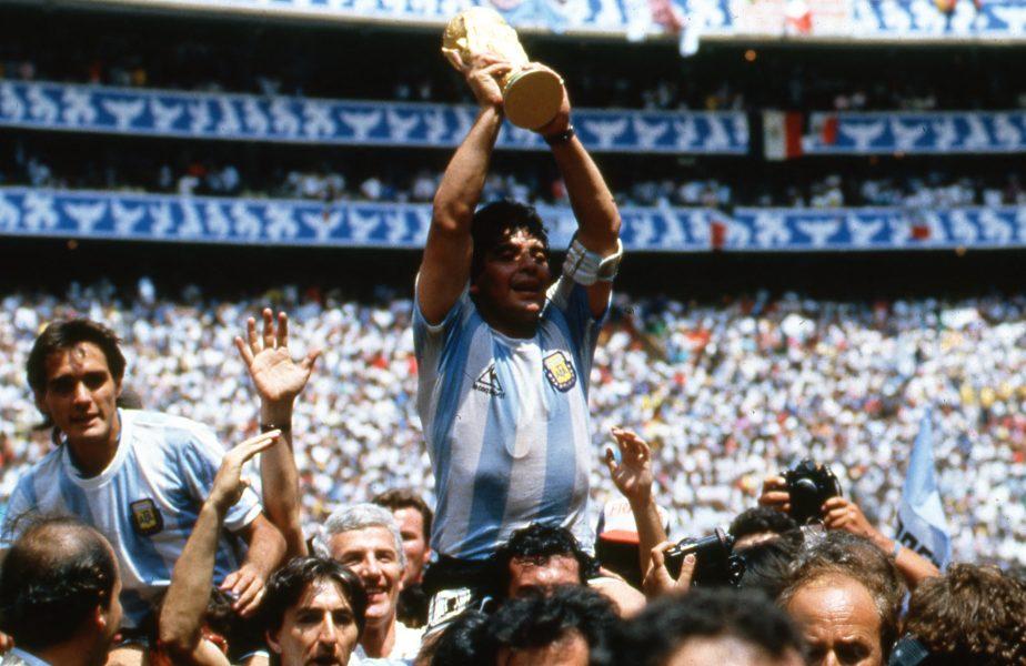 Prețul tricoului lui Diego Maradona, din meciul cu Anglia, a sărit în aer după decesul fostului jucător
