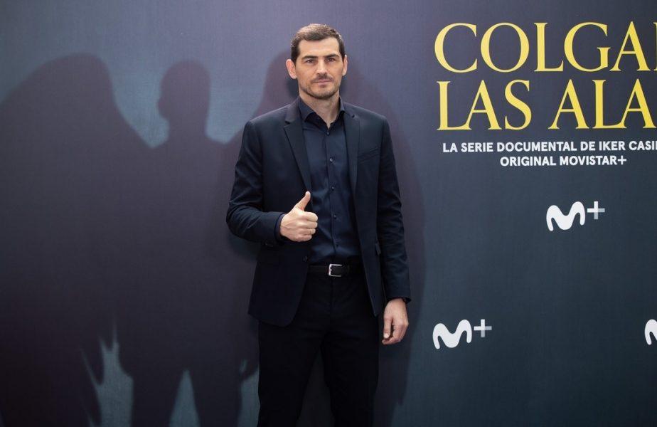 Iker Casillas la lansarea documentarului despre viața sa