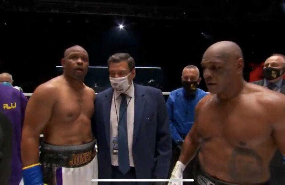 Tyson vs Jones, un meci fără câștigător. Iron Mike este furios în ring la final. Ce l-a enervat pe Iron Mike