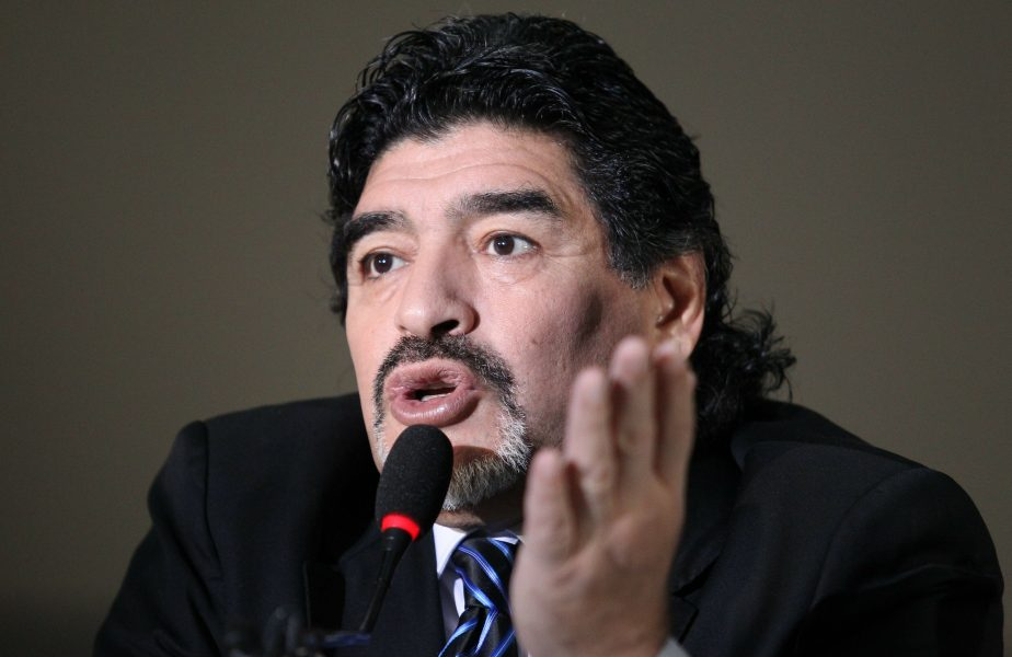 """Omul pe care Diego Maradona îl admira enorm: """"Săruta fotografiile cu el! Parcă ar fi fost un copil care și-a văzut idolul prima dată"""""""
