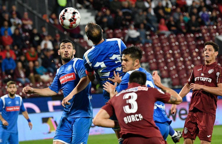 CFR Cluj – Poli Iași 0-1. Moldovenii au prins un Calcan mare! Campioana, patru înfrângeri consecutive în toate competițiile