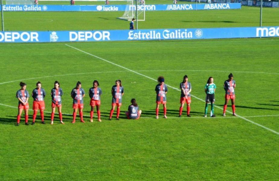 O jucătoare din Spania s-a întors cu spatele în timpul momentului de reculegere pentru Maradona! Ce motiv a invocat femeia