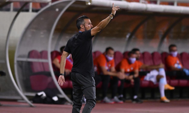 Ruben de la Barrera, în timpul unui meci