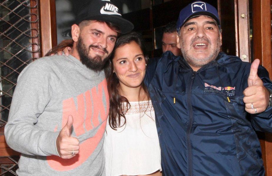 Diego Maradona l-a întrecut pe Cristi Borcea! Argentinianul a avut 11 copii. Moştenirea impresionantă pentru care se luptă aceştia