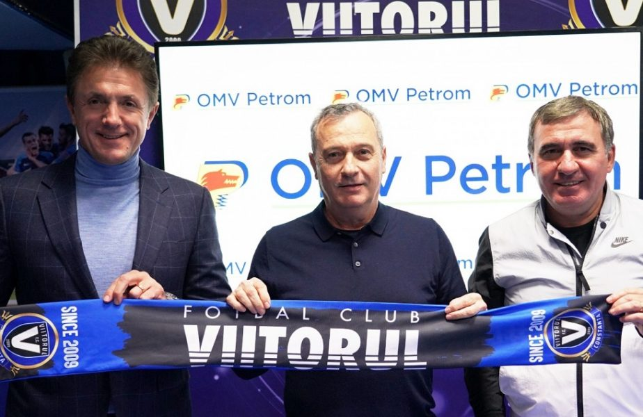 Mircea Rednic, prezentat oficial în calitatea de antrenor al echipei Viitorul de Gică Hagi şi Gică Popescu