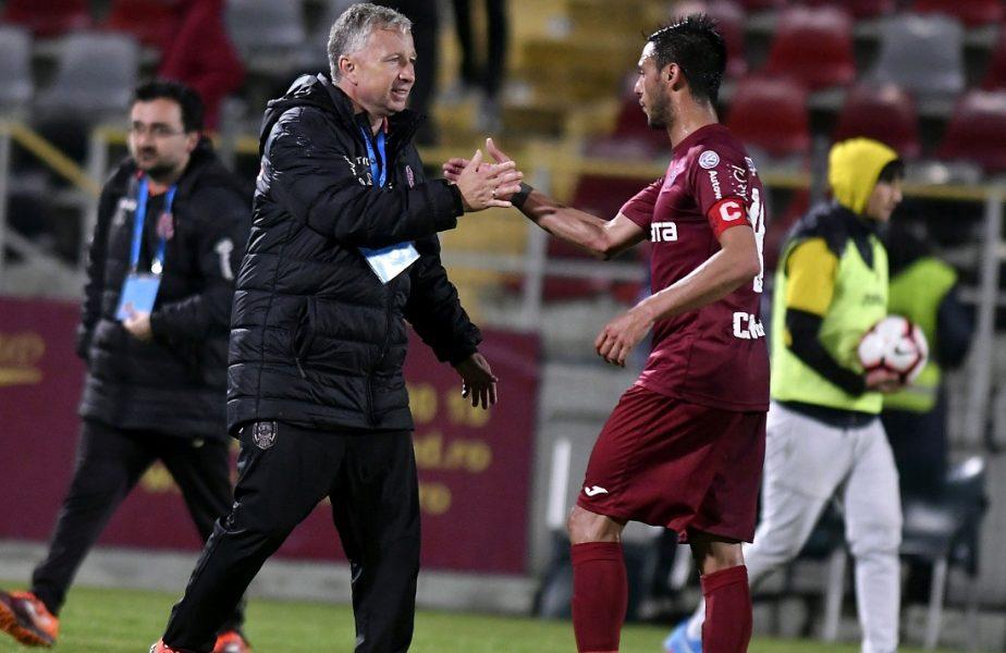 """Dan Petrescu, lăudat de Mario Camora. """"E extraordinar ce a făcut acest om la Cluj"""". Mesajul de despărţire pentru fostul antrenor"""